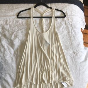 Forever 21 tank with braided back